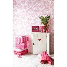 Kinderbehang Roze Barok Behang