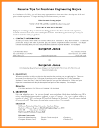 Resume For College Freshmen Resume Templates
