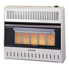 dual fuel ventless infrared heater wall heater 30 000 btu
