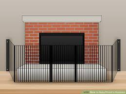 charming design how to baby proof fireplace 3 ways to babyproof a fireplace wikihow