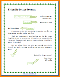 Friendly Letter Format 7 Example Of Friendly Letter Penn Working Papers