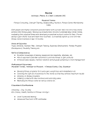 best fitness and personal trainer resume example recentresumescom training resume samples