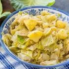 cabbage and yukon gold potato casserole
