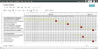 format of presentation of project project timeline excel template schedule presentation format