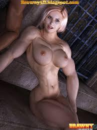 Bodybuilder women sucking dicks of men
