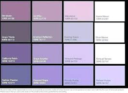 Color Chart With Names Shades Of Purple Names Diges Co