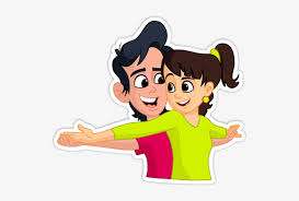 Cute Couple Png Send Png Cute Couple Love Couple Sticker Download Free