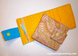 Free Wallet Patterns Extraordinary Wallet Free Sewing Pattern And Tutorial