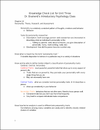 201 knowledge checklist 3 knowledge check list for unit three dr this preview has intentionally blurred sections sign up to view the full version