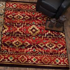 crimson trails rug 8 ft round