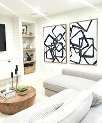 navy wall art set of 2 huge contemporary art acrylic painting on canvas minimalist canvas wall
