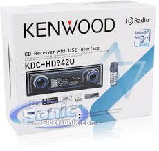 kenwood kdc hd942u kdchd942u in dash cd mp3 wma aac receiver product kenwood kdc hd942u