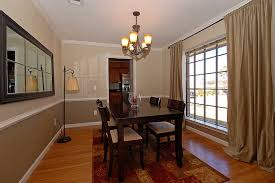 chair rail. Beautiful Decoration Dining Room With Chair Rail Old Mill