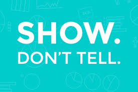 Show Don't Tell' -Providing the Power to Improve Student Writing