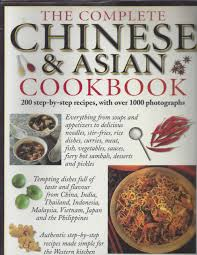 Chinese asian cookbook