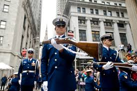 u s department of defense photo essay a member of the coast guard ceremonial honor guard silent drill team performs a rifle movement