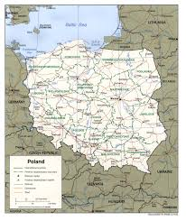 poland maps  perrycastañeda map collection  ut library online