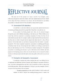 Writing a reflective journal essay   Life Another Way