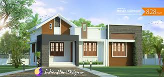 Small Picture Kerala home design 828 sq ft 2 bedroom Low Cost Plan