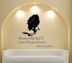 Quotes On A Woman\'s Beauty Best of Custom Name Salon Vinyl Wall Decal Quote A Woman's Beauty People Interior Design Art Wall Sticker Salon Hair Shop Sticker Decorin Wall Stickers From
