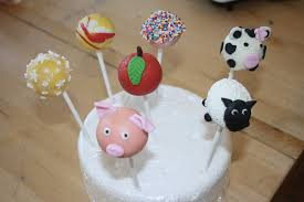 Decorating Cake Balls Caroline Makes Cake Pops Decorating Class Pigs Sheep and Cows 27