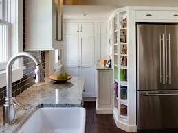 Standard Depth Of Kitchen Cabinets Simple Tall Kitchen Cabinets Pictures Ideas Tips From HGTV HGTV