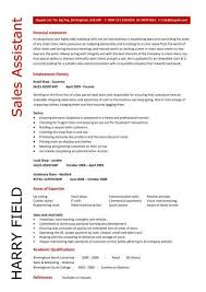 Shop Assistant Resume Sample Pleasing Retail Cv Template Sales