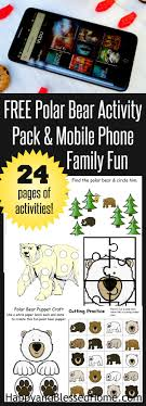 Free 24 Page Polar Bear Activity