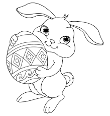 Small Picture simple easter bunny coloring pages Google Search Lindsay Anne