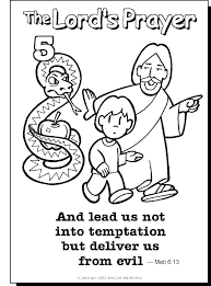 pray coloring pages free praying child page prayer lessons lords pray coloring pages