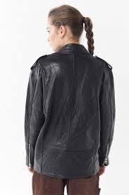 <b>Urban</b> Renewal X PeleCheCoco Oversized <b>Leather</b> Biker <b>Jacket</b> ...