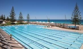 olympic swimming pool background. General View Of The New Scarborough Beach Pool. Pic Mogens Johansen, West Australian Olympic Swimming Pool Background B