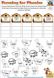 Free printable phonics flashcards,handouts, posters, worksheets, phonics games and other printables to support your phonics lessons and current phonics worksheets: Farming For Phonics Onset And Rime Worksheets Editable Making English Fun