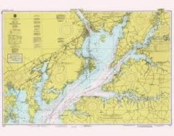 Online Chesapeake Bay Charts Historical Nautical Chart 12274 10 1980 Md Head Of Chesapeake Bay Year 1980
