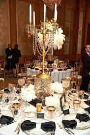 table chandelier centerpieces