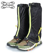 outdoor snow gaiters lengthen ultralight camouflage waterproof hunting climbing hiking ski gaiters legging travel shoe cover