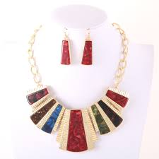 pendant earring set