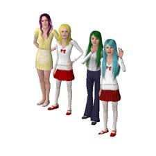 Mermaid Melody Main Characters by CrayZ - The Exchange - Community - The  Sims 3