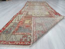 nice vintage runner rug distressed vintage turkish runner rug 0936