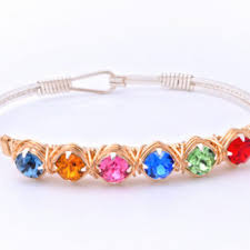 you re viewing earth grace custom birthstone color bracelet 88 00 116 00