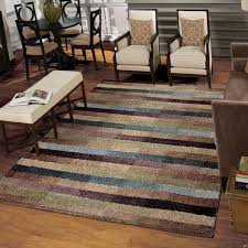 cool area rugs. Carolina Weavers Grand Comfort Collection Cool Stripes Multi Area Rug - 7\u0026#x27;10 Rugs