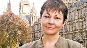 Caroline Lucas, Green MP at Westminster
