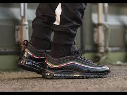 gucci 97. gucci x nike air max 97 first look!! on foot !