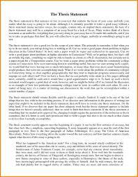 narrative essay thesis examples com narrative essay thesis examples 9 statement for essays case 7