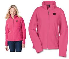 Crossland Soft Shell Jacket Size Chart Ladies Crossland Fleece Jacket Pink Size S 490 9817s