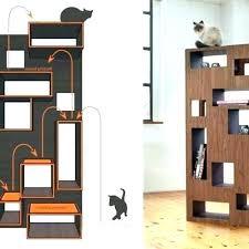 cool cat tree furniture. Modern Cat Tree Contemporary Designer Tower Climbing Furniture Interior Design Ideas Cool O