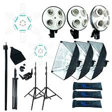 full image for continuous lighting kit for portrait photography studio umbrella boom stand soft box photo