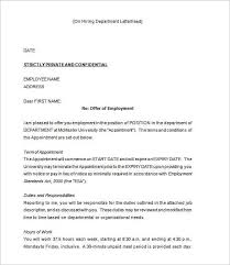 Offer Letter Template India Offer Letter Template 54 Free Word Pdf