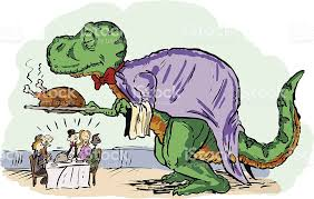 Image result for thanksgiving dinosaur clipart