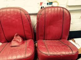 classic car seat restoration